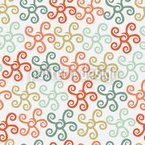 Starfish Tango Seamless Vector Pattern Design