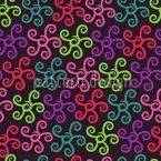 Starfish Samba Seamless Vector Pattern Design