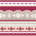 Mamas Little Rosy Motif Vectoriel Sans Couture