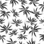 Palmtrees Seamless Vector Pattern Design