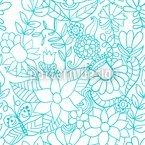 Im Garten Der Schneekönigin Vektor Muster