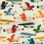 Historical Planes Pattern Design
