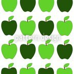 Granny Smiths Apples Vector Ornament