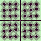 Quadrat Im Quadrat Vektor Ornament