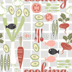 Cooking Fun Repeating Pattern