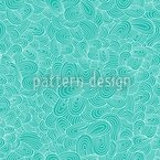Ocean Tongues Seamless Vector Pattern Design