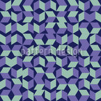 Eulatik Rhombus Seamless Vector Pattern Design