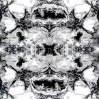 Schwarzer Marmor Rapportiertes Design