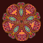 The Mandala Of The Maharani Seamless Vector Pattern Design
