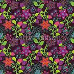 Der Geheime Erdbeergarten Muster Design