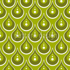 Jade Rain Seamless Vector Pattern Design
