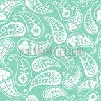 Naturally Paisley Seamless Vector Pattern Design