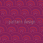 Sweet Fruit Jelly Waves Seamless Vector Pattern Design