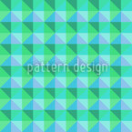 Checks Love Spring Seamless Vector Pattern Design