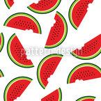 Melonen Tag Nahtloses Vektormuster