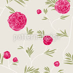 Rosegarden Seamless Vector Pattern Design