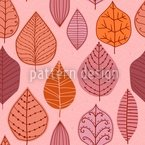 Leaf Collection Seamless Vector Pattern