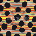 Black Hole River Seamless Pattern
