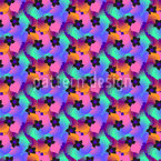 Vibrant Flowers Design Pattern