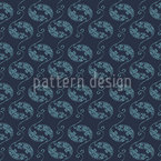 Corals And Ornats Seamless Vector Pattern Design