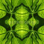 In Der Grünen Hölle Nahtloses Vektormuster