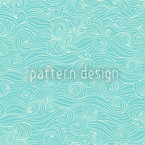 Lagoon Swell Seamless Vector Pattern Design
