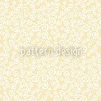 Cachos Celestiais Design de padrão vetorial sem costura