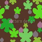 Fig And Leaf Pattern Design