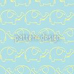 Elefanten Marsch Musterdesign