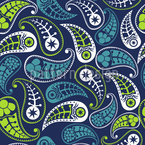 Palace Paisley Seamless Vector Pattern Design