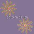 Sonnentanz Blumen Nahtloses Muster