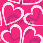 Love Love Love Seamless Vector Pattern