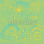 Reef Garden In Spring Pattern Design