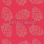 Strawberry Style Seamless Vector Pattern Design
