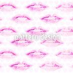 The First Kiss Seamless Vector Pattern Design