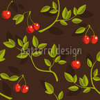 Cherrybranches Seamless Vector Pattern Design