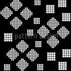 Mosaik Geometrie Bei Nacht Nahtloses Vektormuster