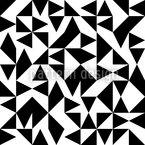 Eulatik Dreiecke Rapportiertes Design