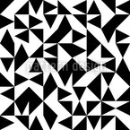 Eulatik Triangles Seamless Vector Pattern Design