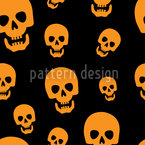Skull Vision Seamless Vector Pattern Design