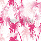 Under Palms Seamless Vector Pattern Design
