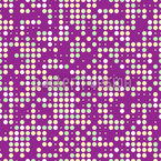 Polka Dot Com Seamless Vector Pattern Design