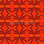 Retro Swirls Vector Pattern