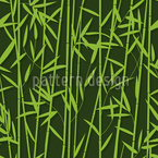 Big Bamboo Seamless Vector Pattern Design