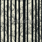 Forest Elegy Seamless Vector Pattern