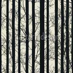 Wald Elegie Nahtloses Vektormuster
