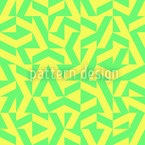 Geometric Lemonade Seamless Vector Pattern Design