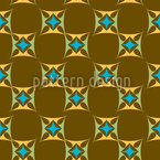 Oriental Sparkles Repeating Pattern