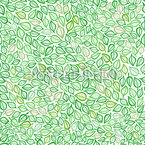 Covered With Leaves Seamless Vector Pattern Design