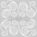 Jorinde Spiralen Nahtloses Vektormuster